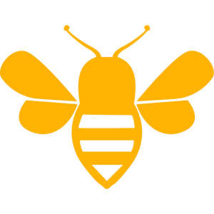 honey bee buzz modern marketing logo graphic design digital marketing agency websites web development