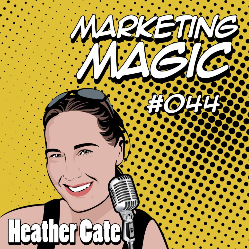 Heather Cate Honey Bee Buzz Modern Marketing digital agency website branding web design development