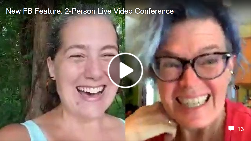 New Two-Person Facebook Lives