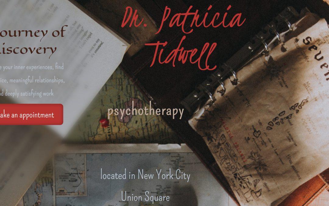 Patricia Tidwell, Psychotherapist