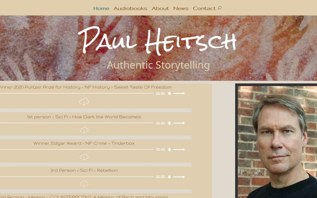 Paul Heitsch, Narrator